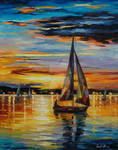 Inside Sea's Cradle by Leonid Afremov
