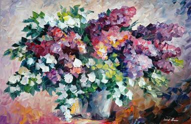Lilac by Leonid Afremov