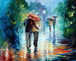 Let's Go Where It's Warm And Dry by L. Afremov