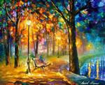 Singing Park by Leonid Afremov