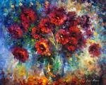 Roses Impression by Leonid Afremov
