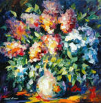 Flower Bouquet by Leonid Afremov
