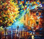 Romantic Stroll by Leonid Afremov