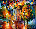 Autumn Day by Leonid Afremov