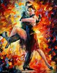 Joyful Tango by Leonid Afremov