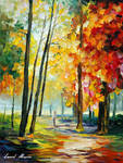 The New Path by Leonid Afremov