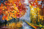 Yellow Evening by Leonid Afremov