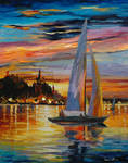 Sunset Dreams by Leonid Afremov