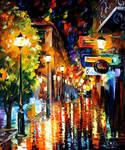 Night City Colors by Leonid Afremov