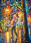 Jump Kiss by Leonid Afremov