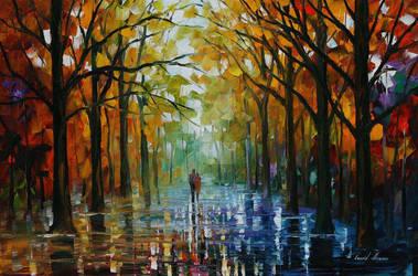 Fall Date by Leonid Afremov
