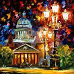 Twinkling Of The Night St. Petersburg by Afremov