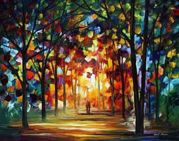 Celebration Of Colors by Leonid Afremov