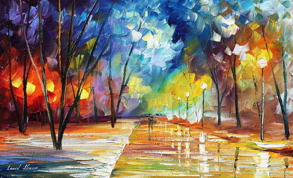 The Warmth Of Winter by Leonid Afremov