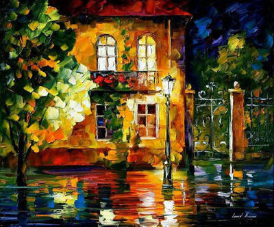 Old Vitebsk by Leonid Afremov