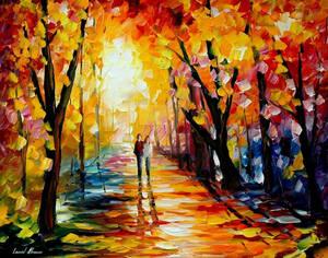 Sunny Way by Leonid Afremov