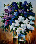 Two Spring Colors by Leonid Afremov