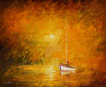 In The Warm Fog by Leonid Afremov
