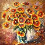Sunny Love by Leonid Afremov