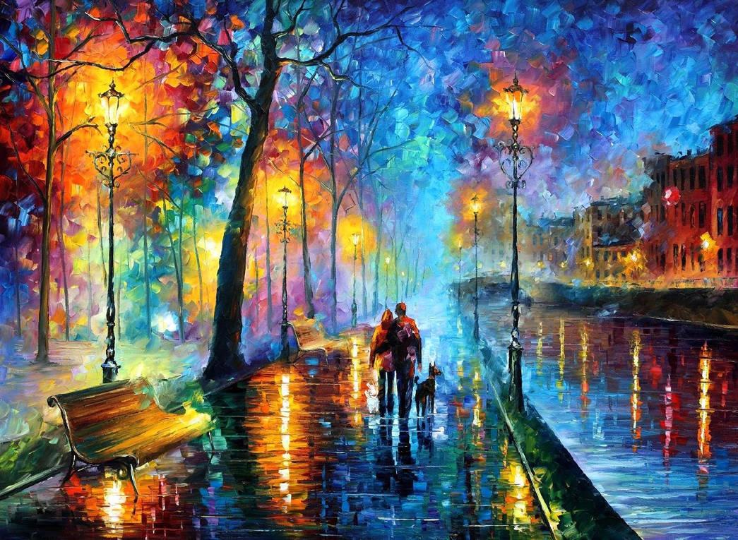 Melody Of The Night by Leonidafremov