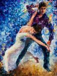 White Dance by Leonid Afremov