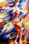 Lost In Rhythm by Leonid Afremov