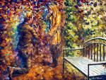 Offer Of Marriage by Leonid Afremov by Leonidafremov