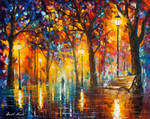 Bench Of Patience by Leonid Afremov