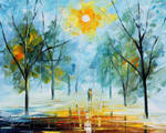 First Leaves by Leonid Afremov