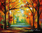 Deep In The Woods by Leonid Afremov