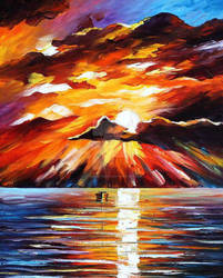 Sunny clouds by Leonid Afremov