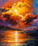 Magnificent Clouds by Leonid Afremov