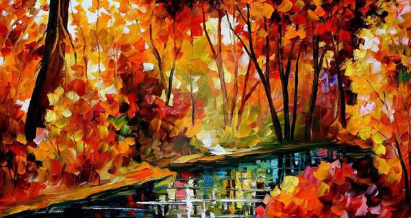 Stream Of Autumn by Leonid Afremov