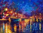 Night Sea Journey by Leonid Afremov