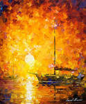 Glow Of Passion by Leonid Afremov