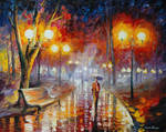 Loneliness In The Fog by Leonid Afremov
