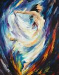 Angel Of Love by Leonid Afremov