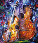 The Marriage of Music by Leonid Afremov