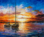Waiting For The Morning by Leonid Afremov