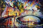 Magic Bridge by Leonid Afremov