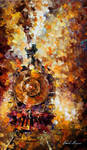Train Of Happiness by Leonid Afremov