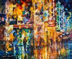 People On The Street by Leonid Afremov