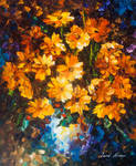 Nice Bouquet by Leonid Afremov