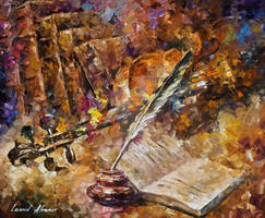Written Music by Leonid Afremov