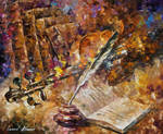 Written Music by Leonid Afremov