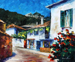 House On The Hill by Leonid Afremov