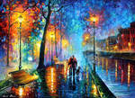 New Melody of the Night by Leonid Afremov