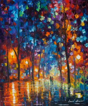 Lights , Colors And Emotions by Leonid Afremov