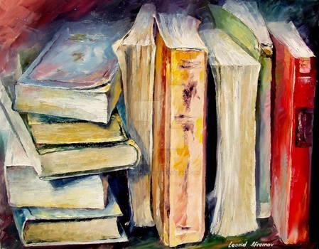 Books by Leonid Afremov