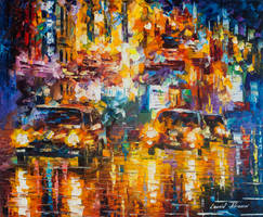 The Night Out by Leonid Afremov